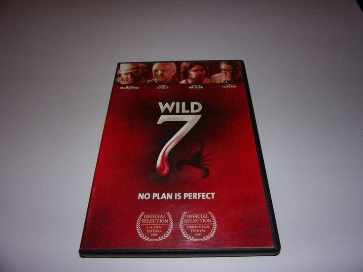 Wild Seven (DVD, 2007) Richard Roundtree, Robert Loggia, Robert Forster  #BeatPirate