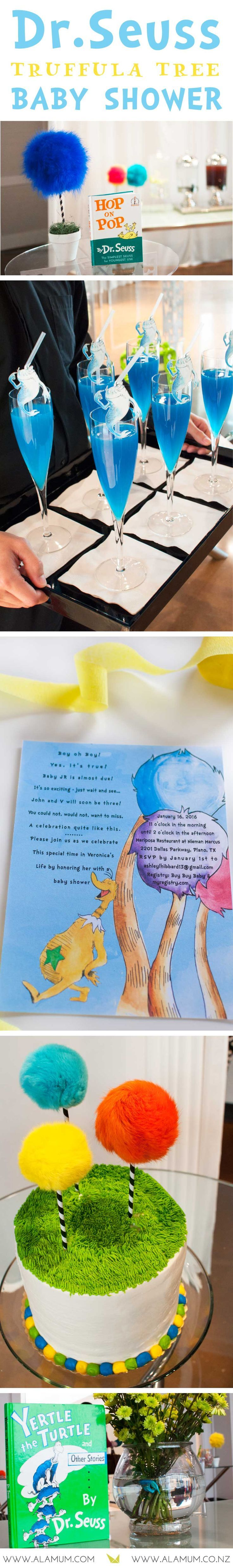 Party Inspiration: Dr. Seuss Baby Shower