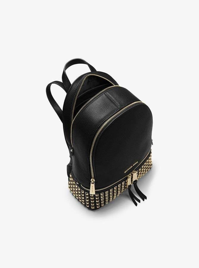 7eb810f4f9 Michael Michael Kors Rhea Medium Studded Leather Backpack