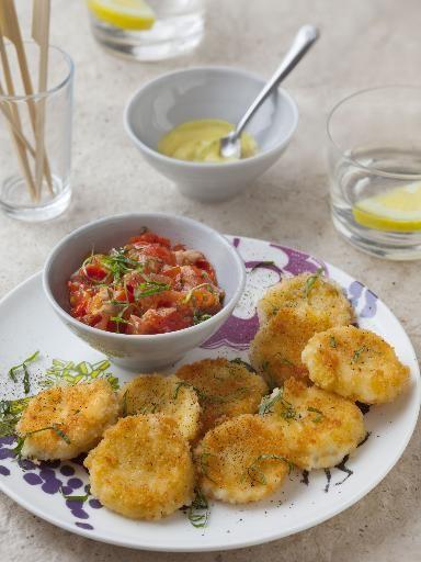 Beignets de mozzarella : Recette de Beignets de mozzarella - Marmiton