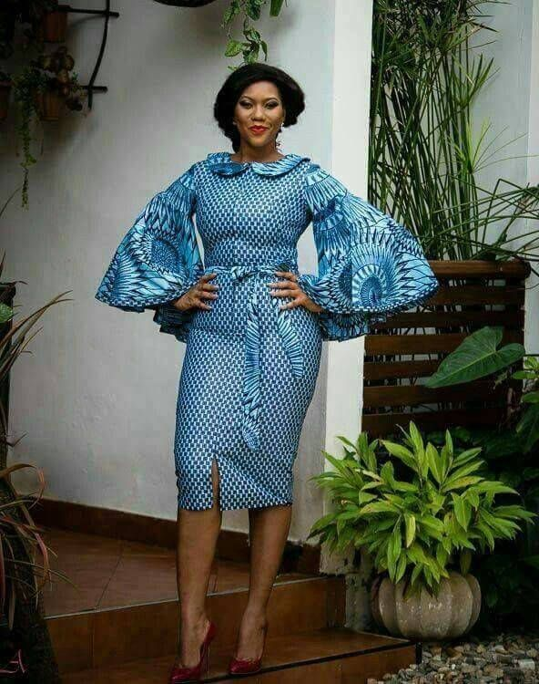 Elegant Ankara Dress