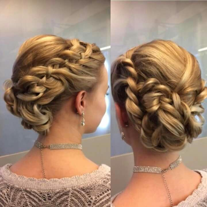 #juhlakampaus #prom #hairstyle #longhair #blonde #braid #bun #tukkatalo