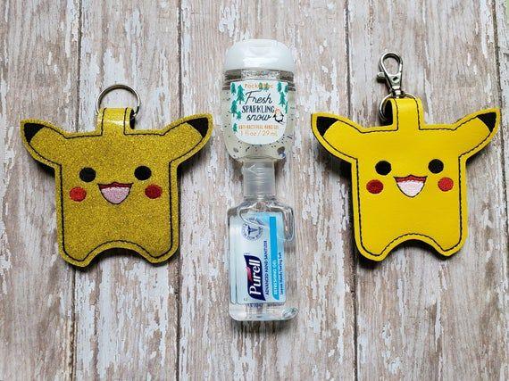Pokemon Sanitizer Holder Sanitizer Holder Hand Sanitizer
