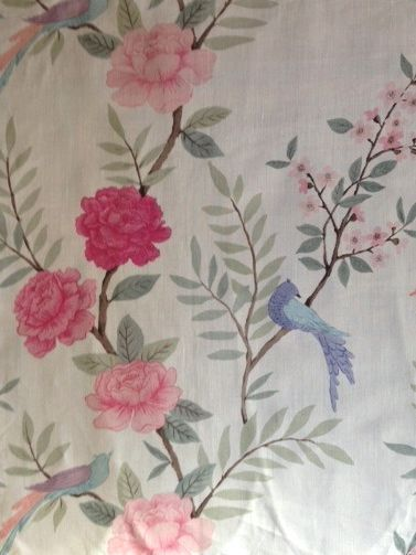 Sarah Hardaker Chinoiserie pink and natural