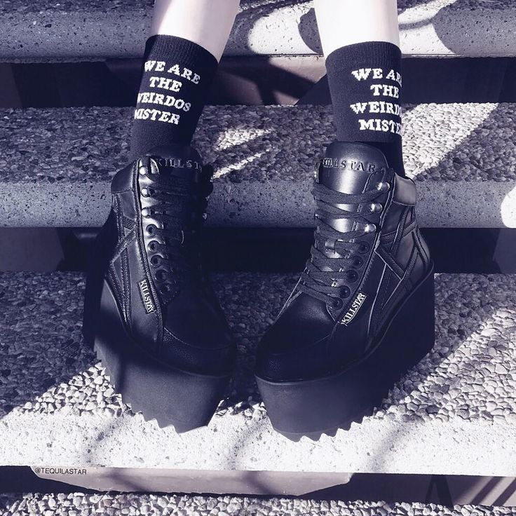 We Of The Craft Are All Crazy; Malice Platforms + Crafty Ankle Socks | SHOP KILLSTAR.com We Ship Worldwide!
