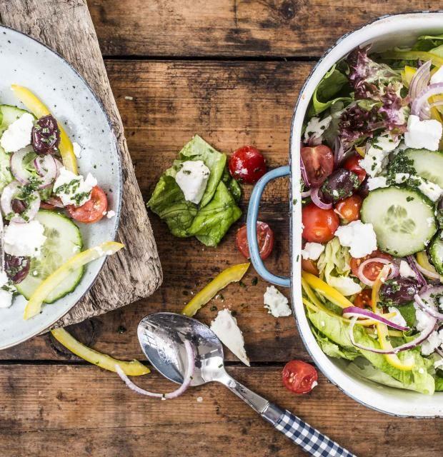 Leckere und einfache salate