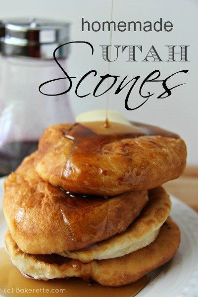 I have a secret the rest of the world is missing out on. It's a secret recipe for scones. Utah scones. A plate-size, golden-fried, puffy piece of greatness served up with honey butter, syrup, or powdered sugar. Bakerette.com