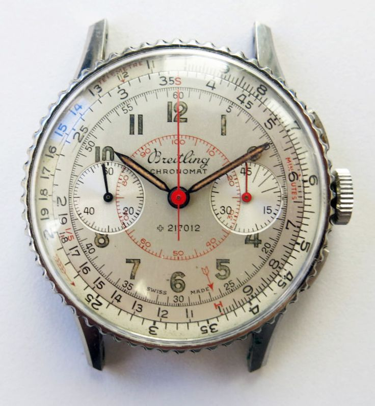 Stunning Vintage Breitling Chronomat Manual Men's Steel Watch Ref# 769 Venus 175