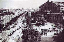 Berlin Anhalter Bahnhof 1910