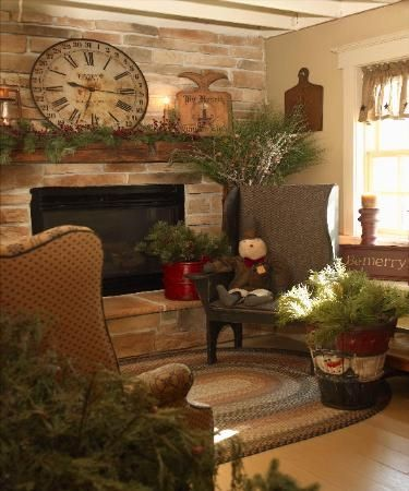 1000 images about primitive home ideas on pinterest - Primitive country living room ideas ...