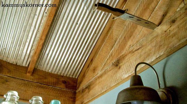 Corrugated Ceiling Walls Amp Woodwork Trim Pinterest