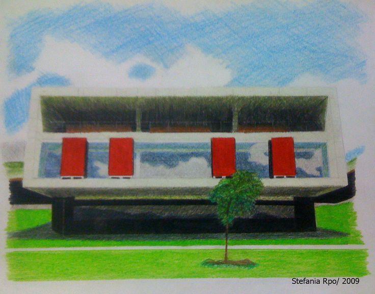 Parque Biblioteca La Ladera / Color / Representación I | Flickr - Photo Sharing!
