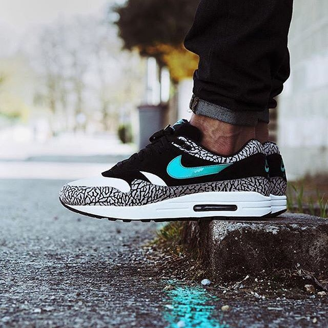 #SADP : @atmos flagshipstore x @nikesportswear Air Max 1 by @bisso97120 Use the hashtags #SADP and #SneakersAddict for a feature! #💊👟#am1 #sneakerfiend #sneakerporn #kicksonfire #FF