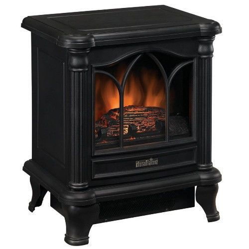 electric stove fireplace space heater living room bedroom furniture home decor ebay domestic. Black Bedroom Furniture Sets. Home Design Ideas