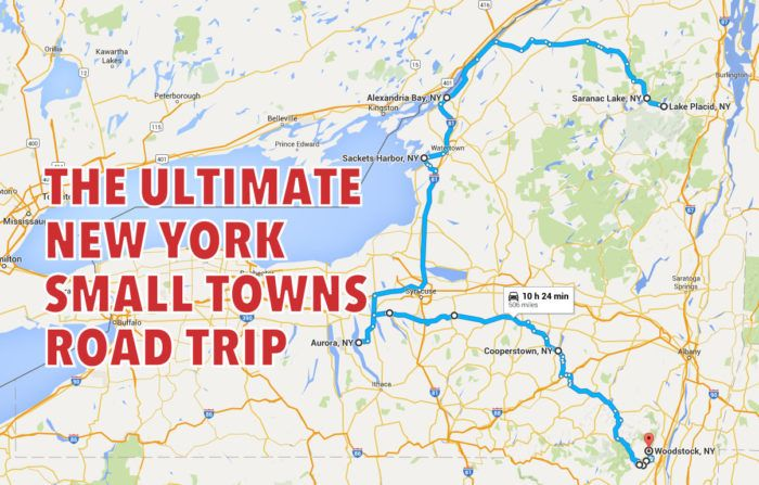 Take This Road Trip Through New York's Most Picturesque Small Towns For An Unforgettable Experience