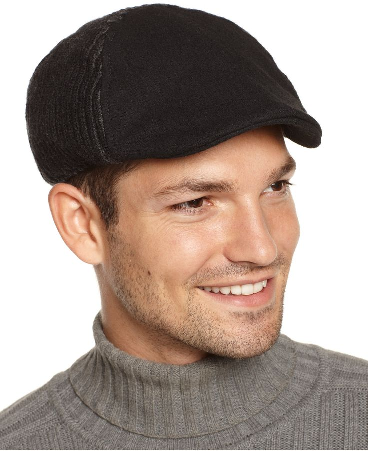calvin klein plaited ribbed flat cap hats gloves
