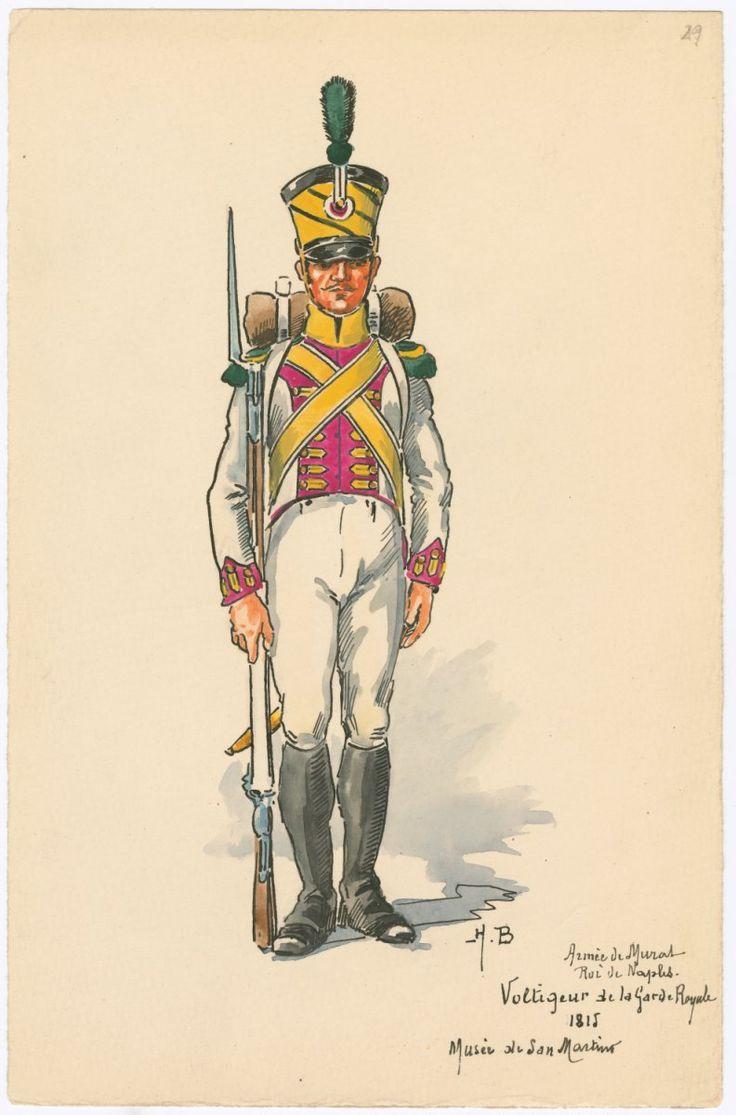 Volteggiatore della guardia reale del regno di Napoli