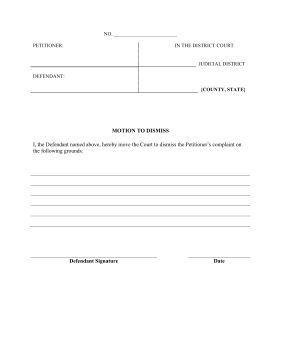 pleading document template