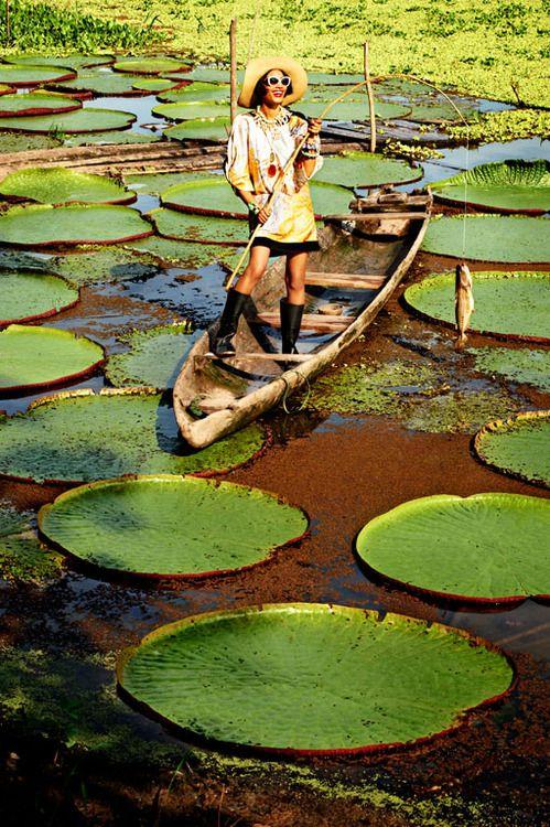 Amazon River | Yucuruchi Pond, off the Marañón River, Peru