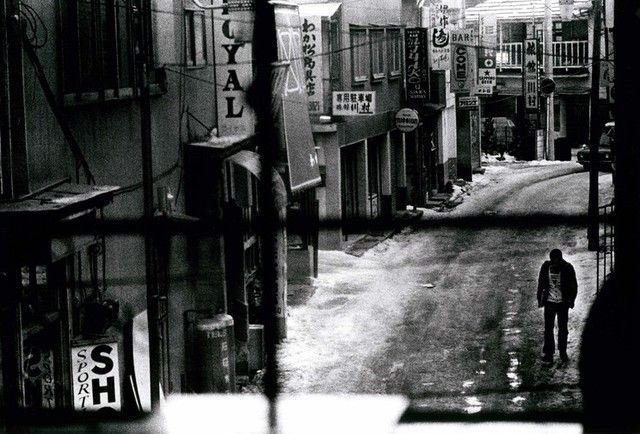 Daido Moriyama, Misawa (Man on the street) (1998)