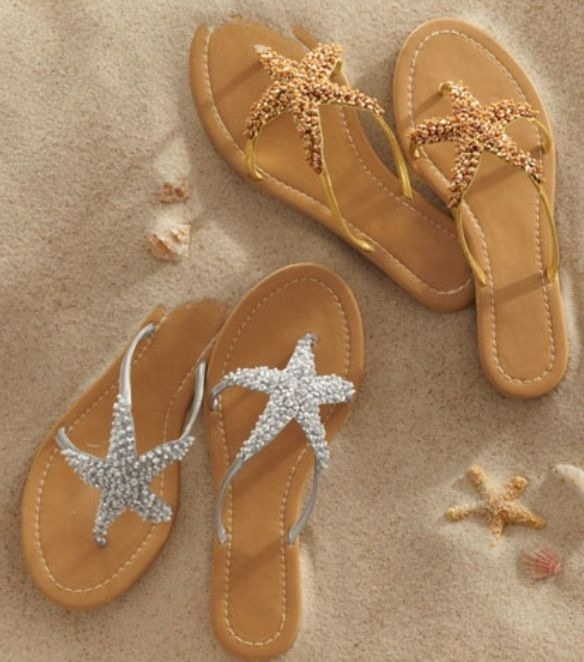 Cute Starfish Sandals