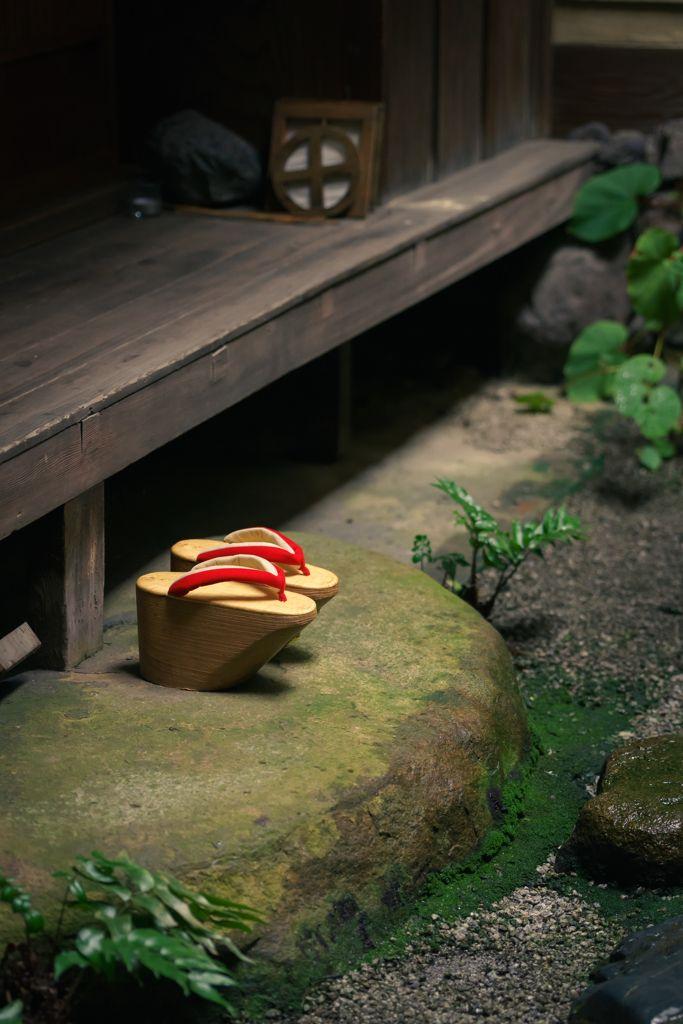 おこぼ Okobo (maiko's traditional shoes) KYOTO JAPAN