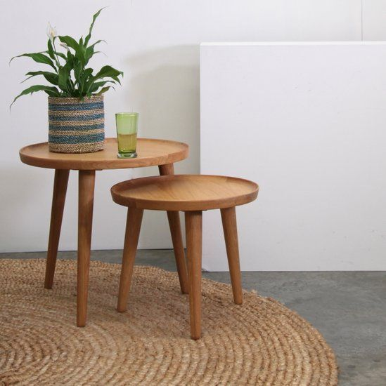 GST151 Nordic Side Table Set of 2 Satara