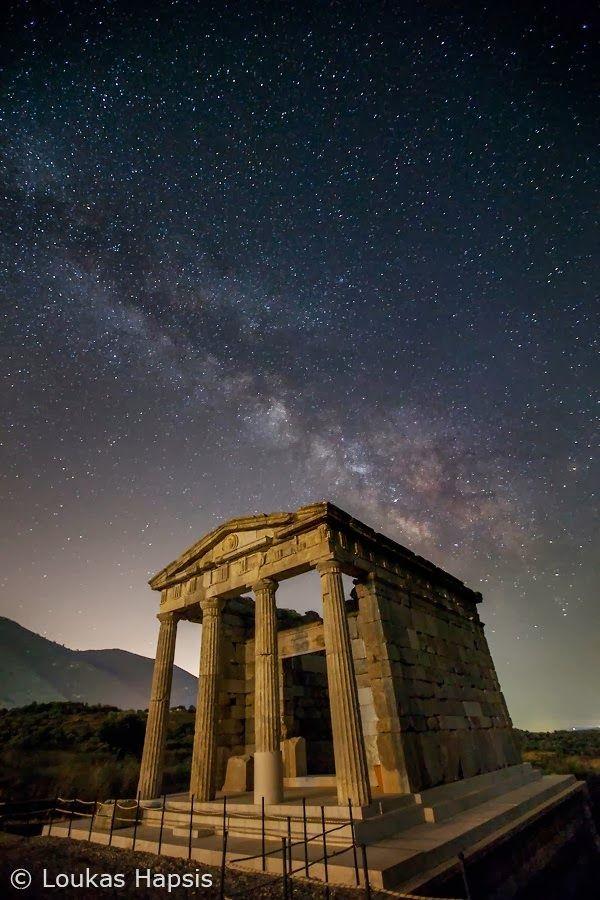 Αρχαία Μεσσήνη. Το ηρώο του σταδίου.