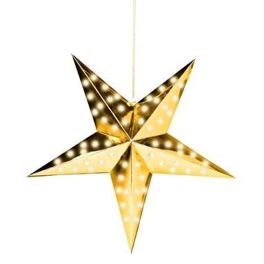 Christmas star with lights :) that will be hanging in my window 30 kr. from now ;)