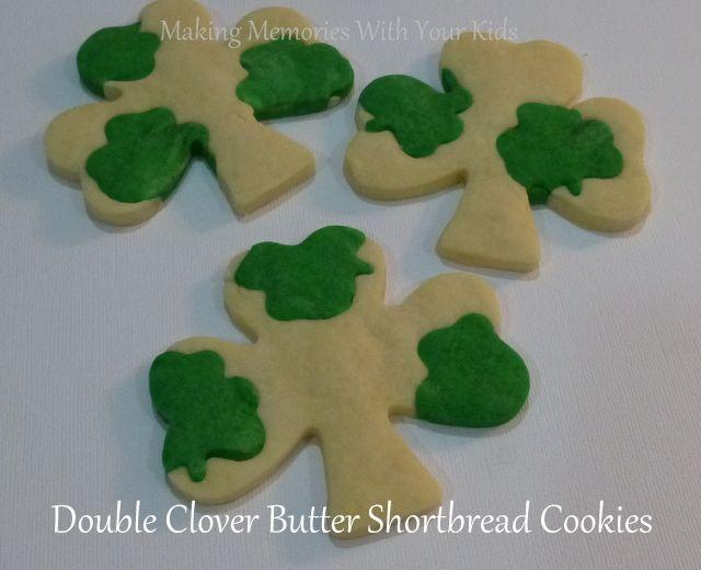 DOuble Clover Butter Shortbread Cookies