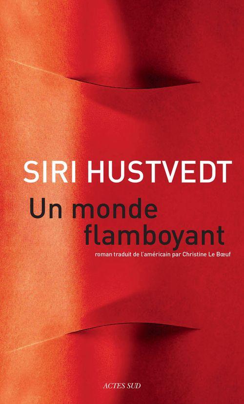 """""""Un monde flamboyant"""", Siri Hustvedt, Editions Actes Sud, #numérique #ebook 14,99€ disponible sur www.page2ebooks.com ...et toujours le plaisir de lire !  #rentrée littéraire 2014"""