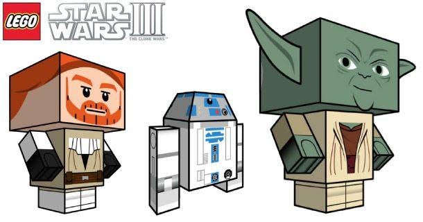 Etant fan de lego, fan de Star Wars et fan de Paper Toys, impossible de ne pas relayer cette série Clone Wars de Cubeecraft… On y retrouve les paper toys d'Anakin Skywalker, Obiwan Kenobi, Yoda, C-3PO et R2-D2. Il faut…