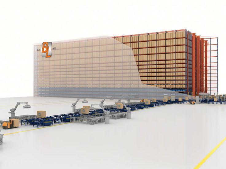 Blechwarenfabrik signe un contrat pour deux nouveaux entrepôts automatiques - Mecalux.fr