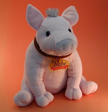 Stuffed Battery-Operated BABE Piggy (010004)
