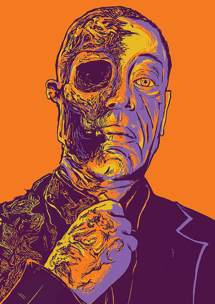Gus Fring  by Musketon