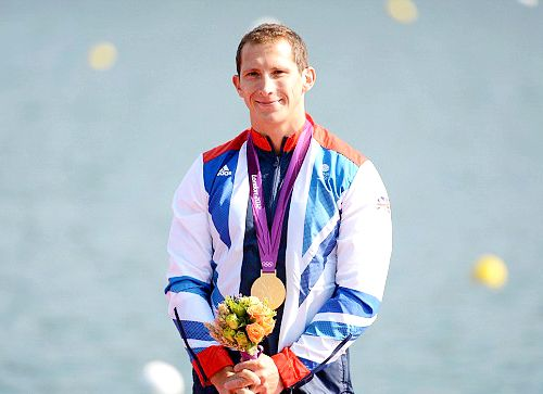 Team GB Medals 2012  51. Ed McKeever- GOLD  (Canoe Sprint: Men's Kayak Single (K1) 200m)