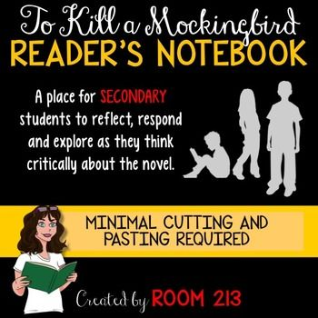 to kill a mockingbird reader response This lesson plan asks students to read to kill a mockingbird carefully with an eye  for  eight at the conclusion of the novel), the reader encounters a world where  people  by observing atticus finch's responses to the threats and gibes of the.