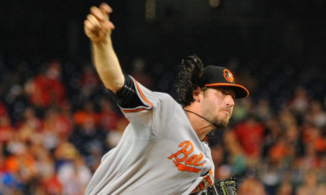 Orioles release Logan Ondrusek = The Baltimore Orioles have released right-handed relief pitcher Logan Ondrusek. The right-hander hasn't pitched in one week because of elbow pain stemming from a Grapefruit League outing last Friday. He was signed to a one-year deal with a club option for 2018, but by releasing him, the Orioles don't have to pay most of the $650,000 that he was set to make as his salary. Ondrusek spent…..