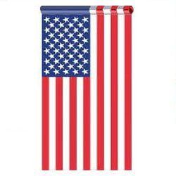 2.5 X 4 US American Flag Embroidered Stars Sewn StripesPole Sleeve Banner Style by American Flag Superstore. $18.74. HIGHEST QUALITY with Sewn in Leather Tab, Embroidered stars and sewn stripes. SolarMax Nylon Ships Same Day. Save 52%!