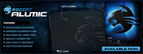 Roccat Alumic - Double Sided Gaming Mousepad   Dynacor IT & Gaming Solutions
