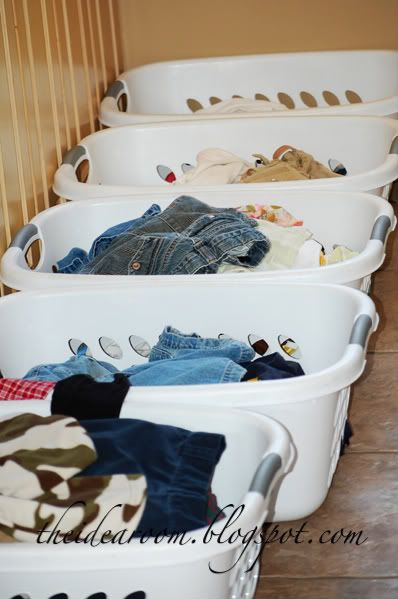 Tips to Help Make Laundry Day(s!) More Manageable from The Idea Room