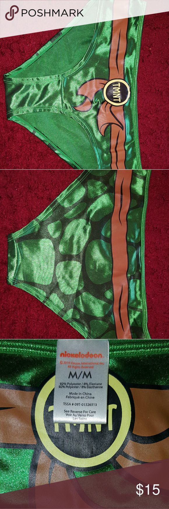 Nickelodeon Ninja Turtle Halloween Costume Nickelodeon Ninja Turtle Halloween Costume. Super cute and comfortable! Goes great with panty hose. Worn once! Nickelodeon Other