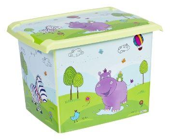 Prima Baby Muovilaatikko Kannella Hippo 20,5 l - TokNet.fi -verkkokauppa 10€
