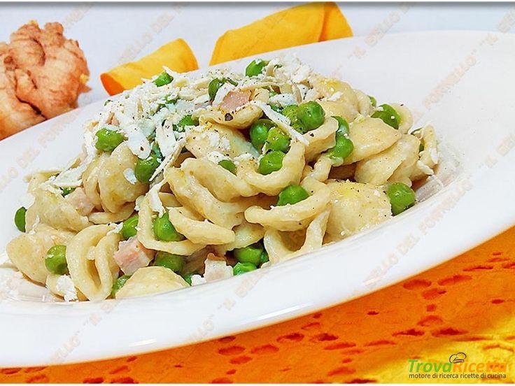 Insalata di pasta e piselli con fesa di tacchino  #ricette #food #recipes