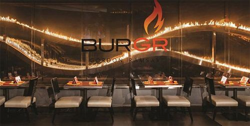 30-Foot Flame Wall at Gordon Ramsay's Restaurant costs $500,000 per year