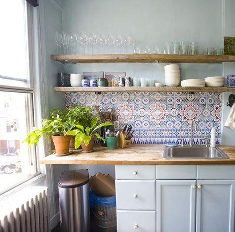 Kitchen Tiles Blue best 20+ moroccan tile backsplash ideas on pinterest