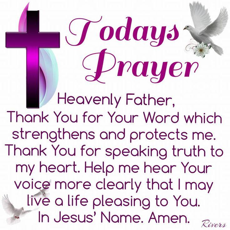Today's Prayer. Amen.