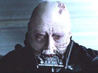 Unmasked Darth Vader