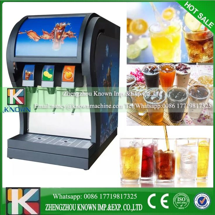 1904.00$  Buy here - http://ali2ia.worldwells.pw/go.php?t=32787719903 - Commerical use 3 flavor soda filling machine/soda fountain dispenser/coke fountain dispenser