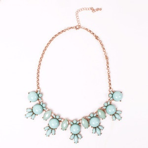 Athena Necklace Mint, $48, now featured on Fab.